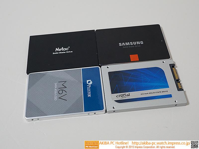 Netac N550S + Plextor M6V + Samsung SSD 840 + Samsung SSD 840 PRO