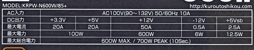 """システム全体の消費電力:アイドル時43.0W/高負荷時263W<br class="""""""">動作音:アイドル時34.5dB/高負荷時35.5dB"""