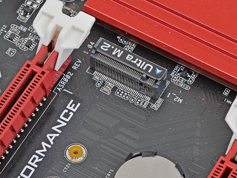 PCI Express 3.0x4対応のM.2 SSDの性能をフルに発揮させられる