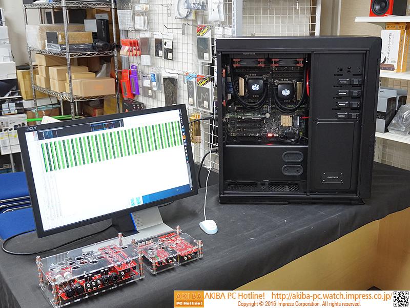 44コア/88スレッドのデュアルXeon搭載PCのデモを一部ショップが実施
