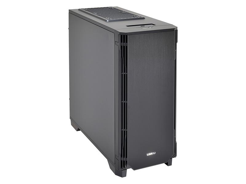 PC-K6SXは開閉式のフロントパネルを備えた静音強化モデル