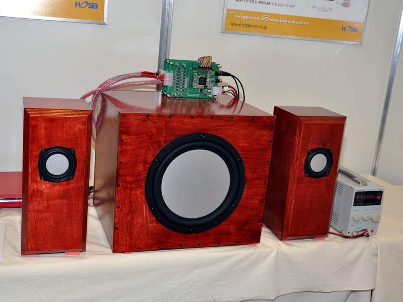リードサウンドが開発したフルデジタルスピーカー