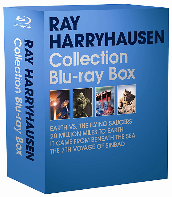 "<p align=""left""><small>レイ・ハリーハウゼン コレクションBlu-ray Disc BOX</small>"