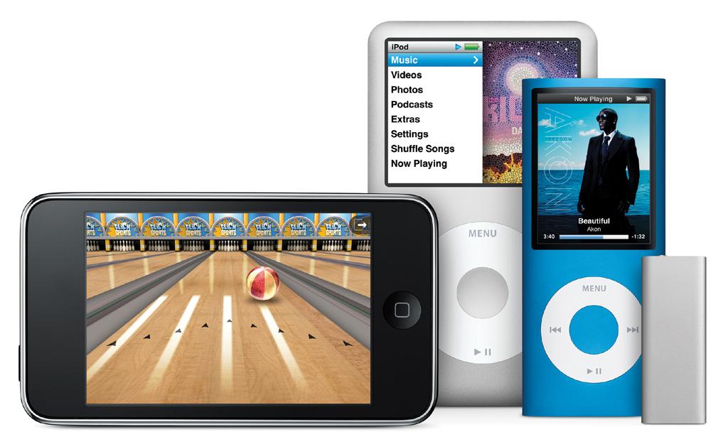 iPodファミリーの新ラインナップ