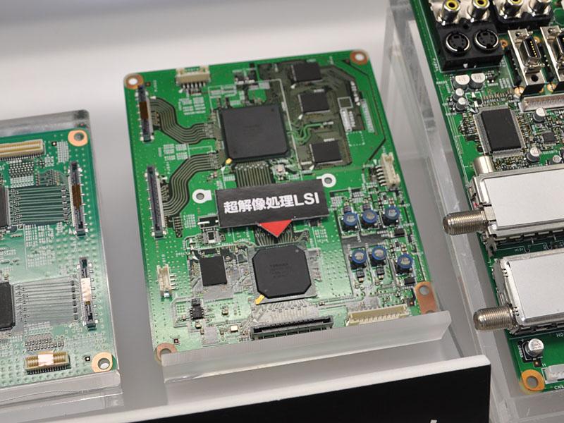 2つのバックライトコントロールLSIを搭載