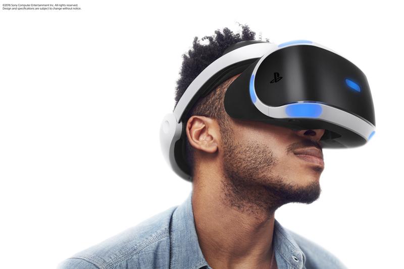 PS VRの装着イメージ