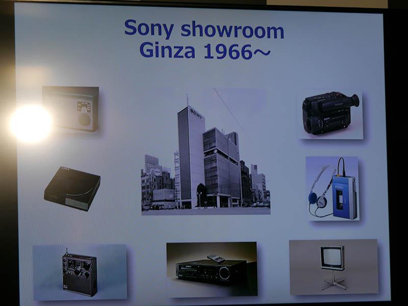 1966年に銀座にショールームをオープン