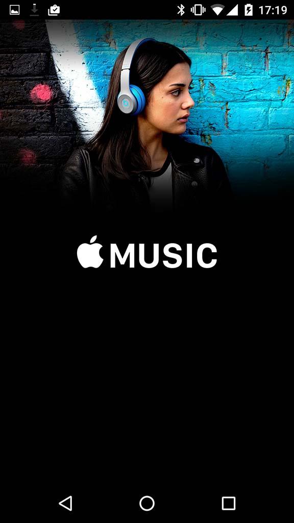 Apple Musicアプリ