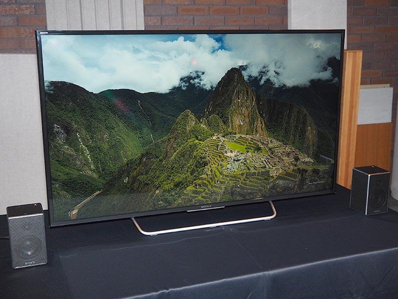 48型テレビ「KJ-48W700C」との組み合わせ例