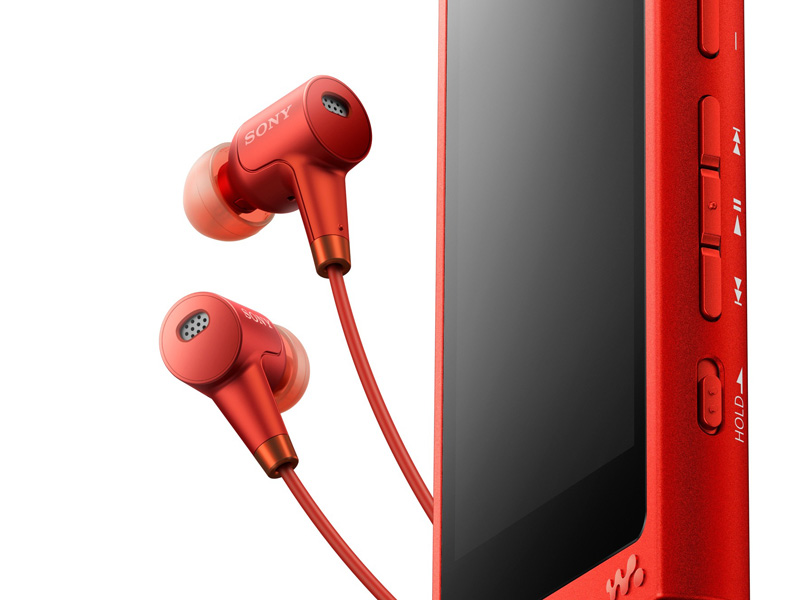 型番の最後にHNが付くイヤフォン同梱モデルは全てハイレゾ対応の「MDR-MW750N」が付属