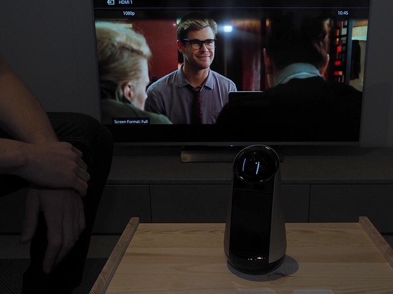 音声でテレビのボリュームなどを操作