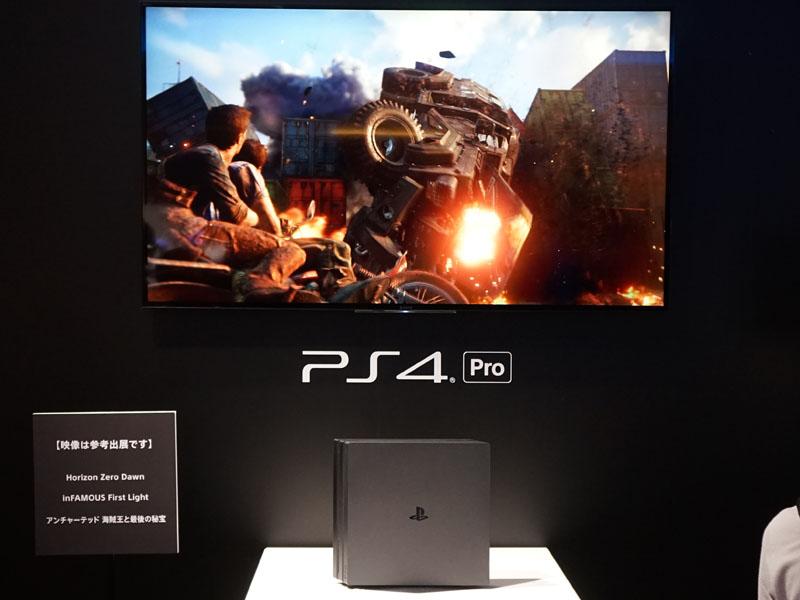4K解像度でゲームを出力、PS4 Proのパワーを示すデモ