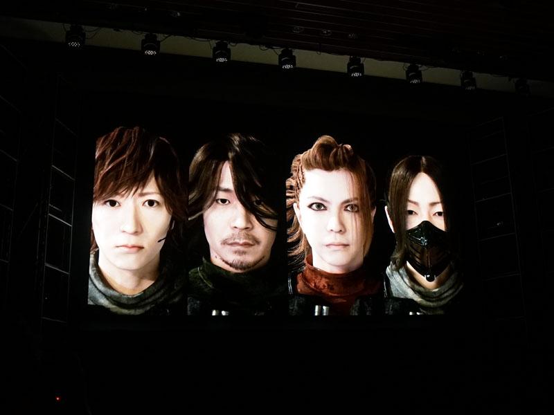 "L'Arc-en-Cielのメンバーがデジタルキャラクターに!<BR><span class=""fnt-70"">(C)Ki/oon Music (C)CAPCOM CO., LTD. (C)Sony Interactive Entertainment Inc.</span>"