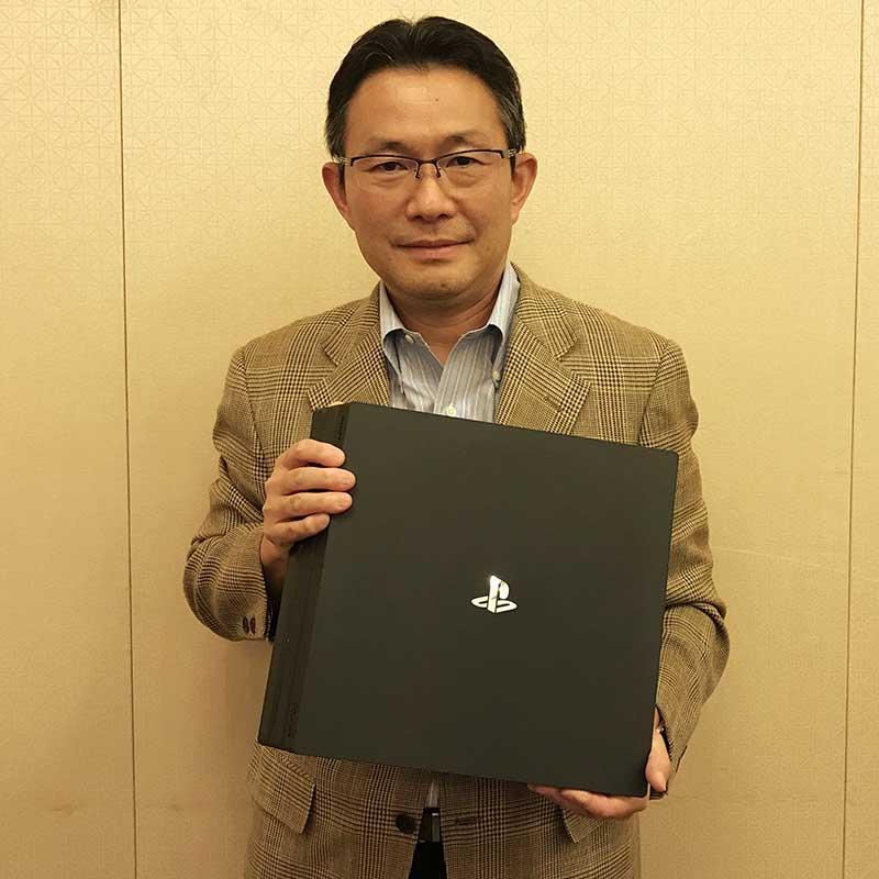 SIE ハードウェアエンジニアリング&オペレーション担当EVPの伊藤雅康氏