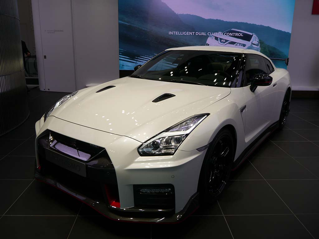 GT-R NISMOも展示している