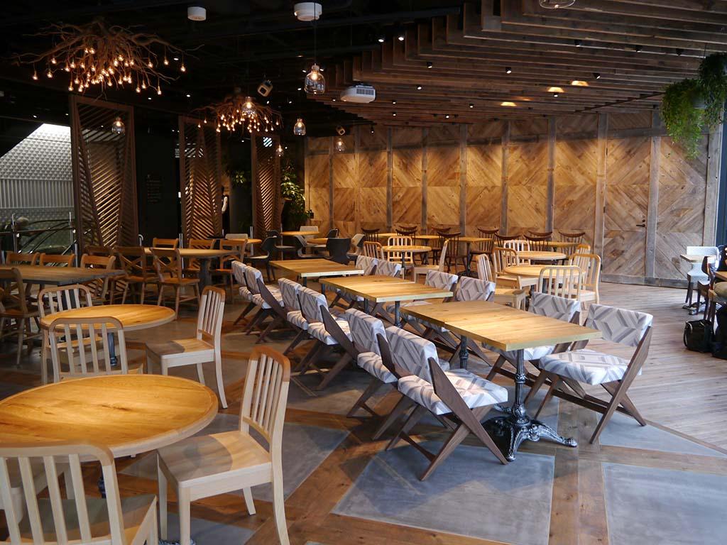 3階のイベントスペース&カフェの「common ginza」