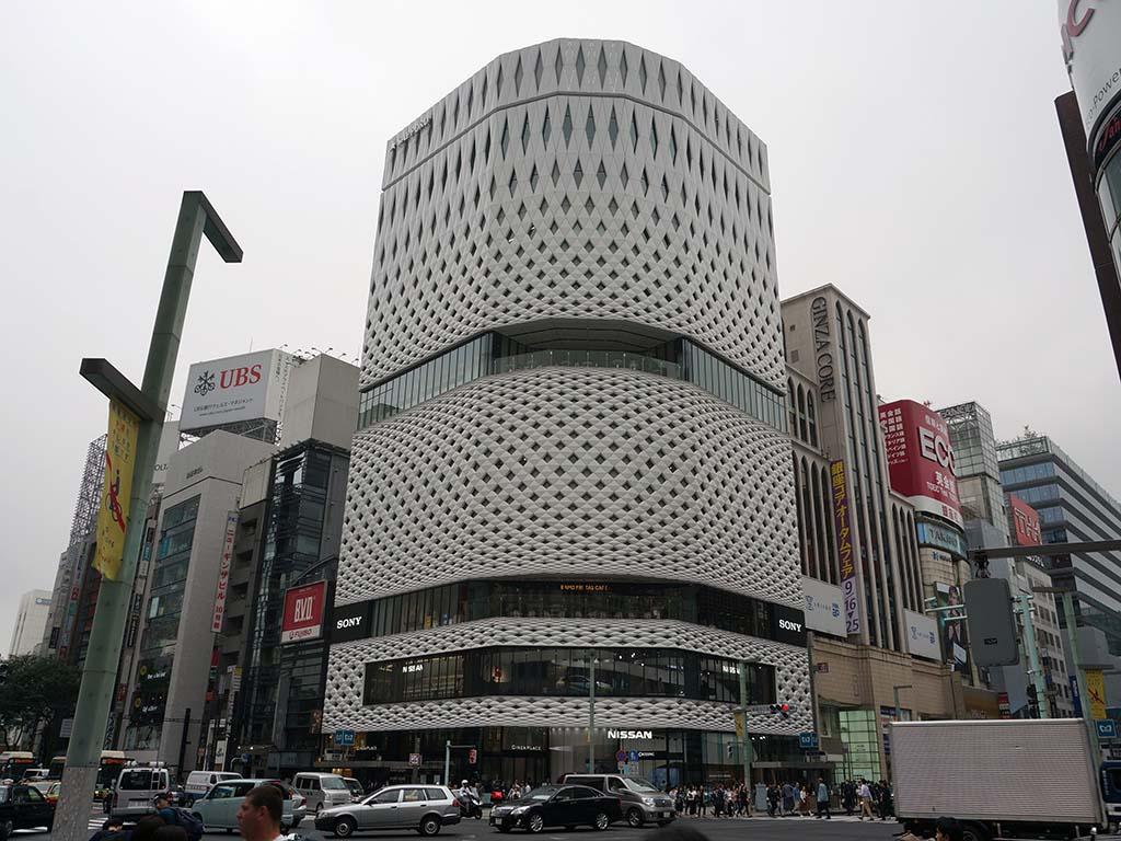 ソニーショールーム/ソニーストア銀座が入居する東京・銀座のGINZA PLACE