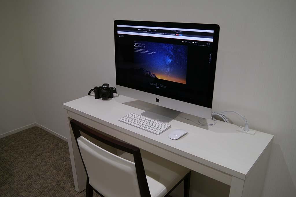 Macを導入して、動画作品のサポートも行なえるようにした