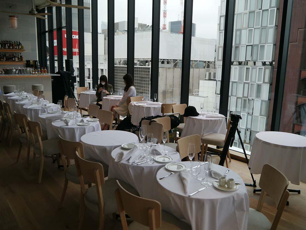 パリの2つ星レストランの総料理長であるティエリー・マルクス氏監修の世界初出店レストラン