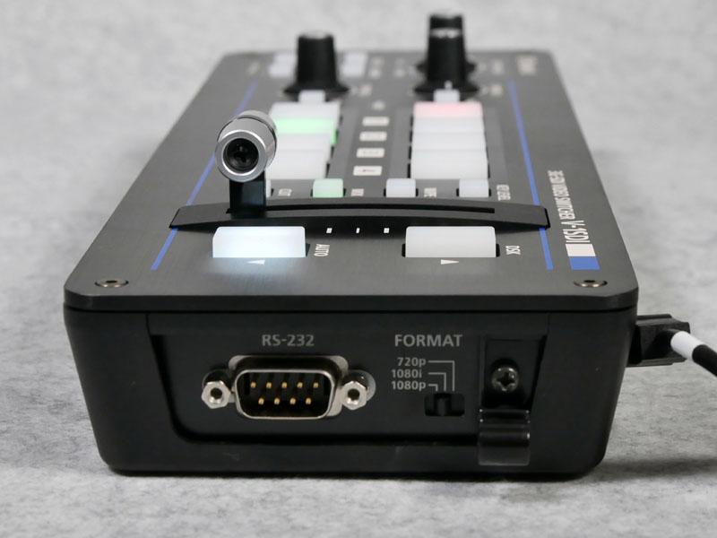側面にシステムフォーマットの設定スイッチ