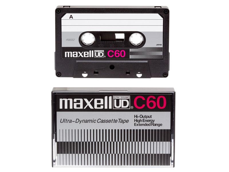「UD」のデザインを復刻したカセットテープ、60分の「UD C60」