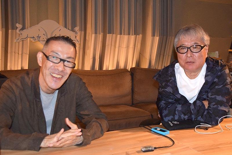 藤井氏(左)と松武氏(右)