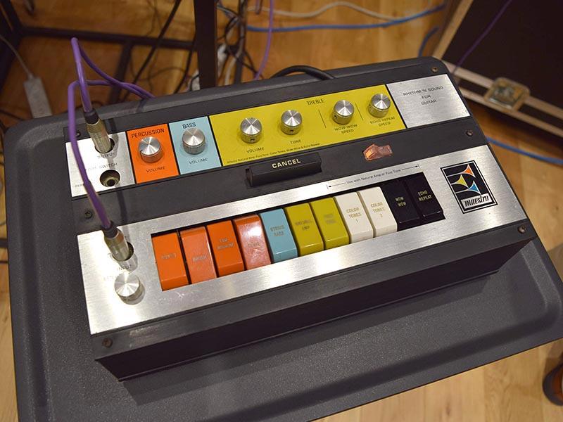 ゴリウォーグのパーカッションに利用されたリズム機材Maestro