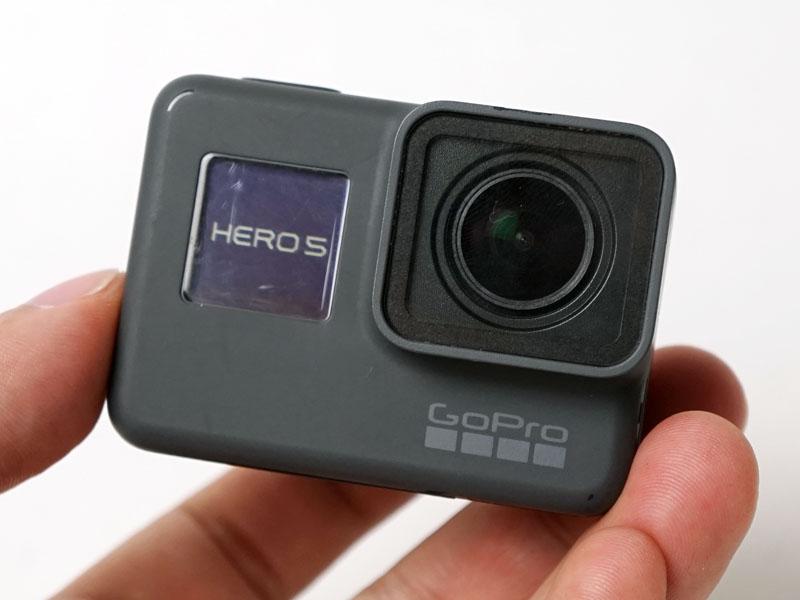 イメージを一新したGoPro HERO5 Black