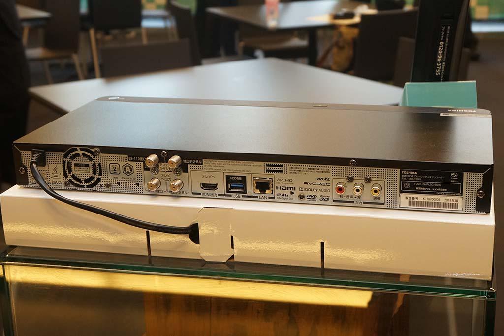 DBR-T2007の背面
