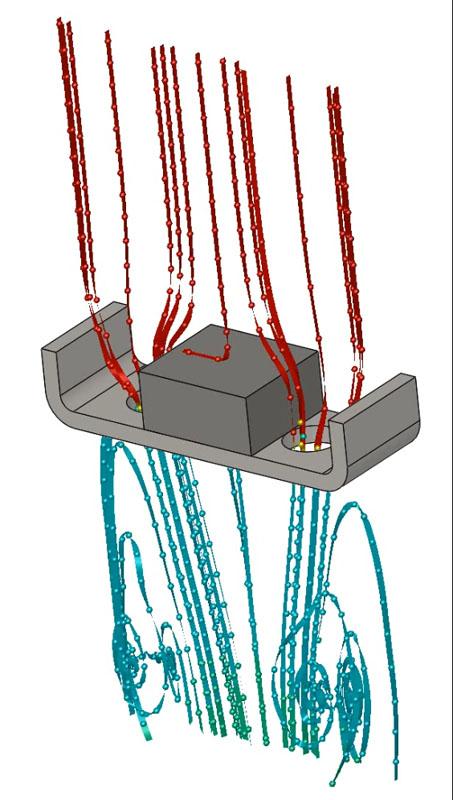 一般的な平面駆動ユニットのエアーフロー