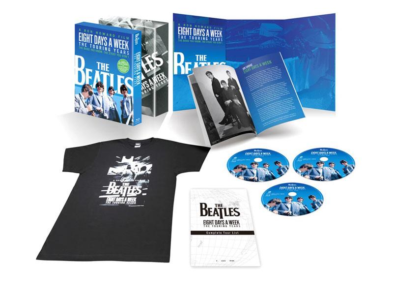 """ザ・ビートルズ EIGHT DAYS A WEEK - The Touring Years Blu-ray コレクターズ・エディション<BR><span class=""""fnt-70"""">(C)Apple Corps Limited. All Rights Reserved.</span>"""