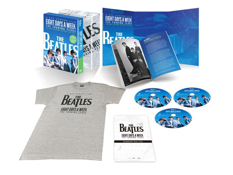 """ザ・ビートルズ EIGHT DAYS A WEEK - The Touring Years DVD コレクターズ・エディション<BR><span class=""""fnt-70"""">(C)Apple Corps Limited. All Rights Reserved.</span>"""