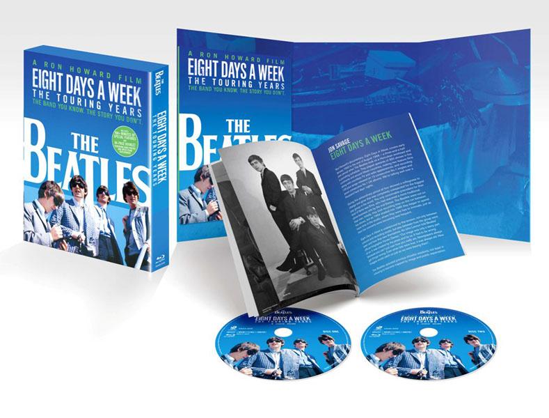 """ザ・ビートルズ EIGHT DAYS A WEEK - The Touring Years Blu-ray スペシャル・エディション<BR><span class=""""fnt-70"""">(C)Apple Corps Limited. All Rights Reserved.</span>"""