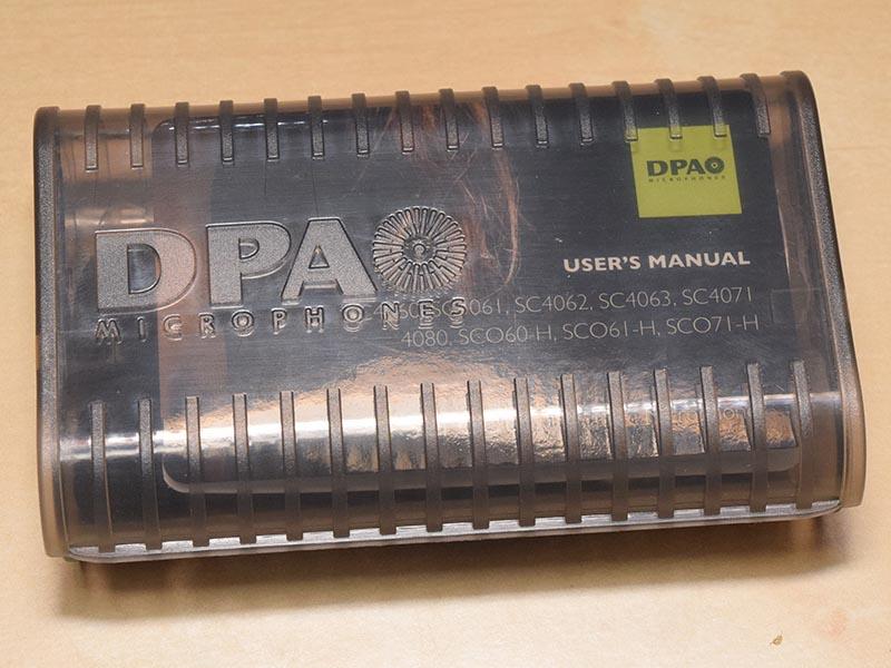 デンマーク・DPAのコンデンサマイク「SC-4061」が付属