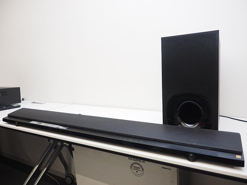 薄型でもハイレゾ対応スピーカー内蔵のソニー「HT-NT5」