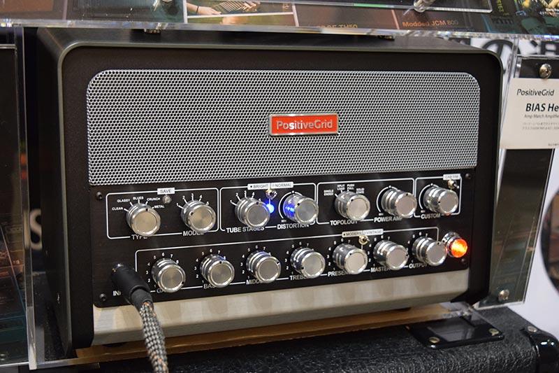 Positive Gridのギター&ベースアンプ「BIAS Head」