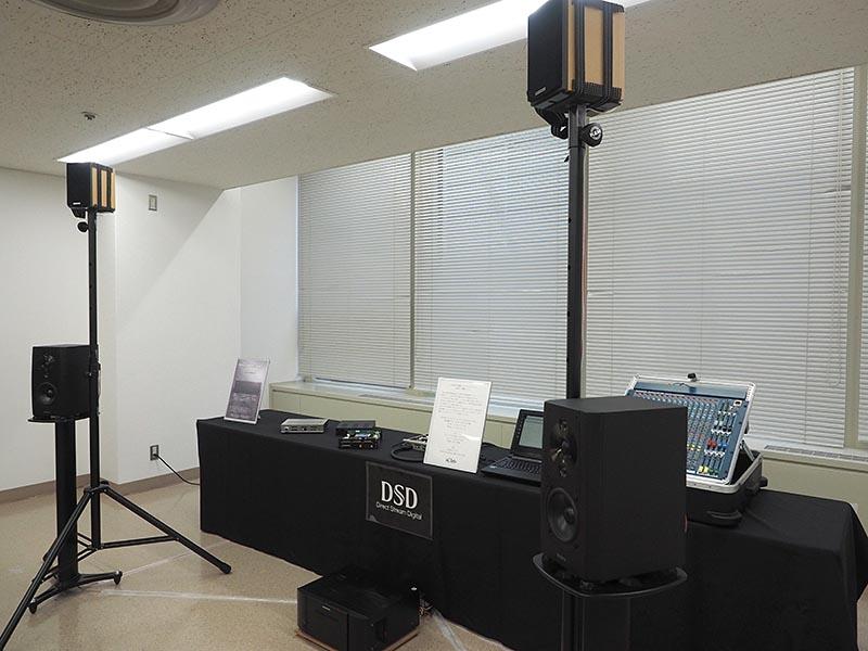 相川氏の「アイ・クオリア」もブースを出展。DSD対応USBオーディオインターフェイス「I88AD-U1」を、'16年度後半の製品化に向けて開発。今回のM3では、6chのサラウンドミックスをデモ