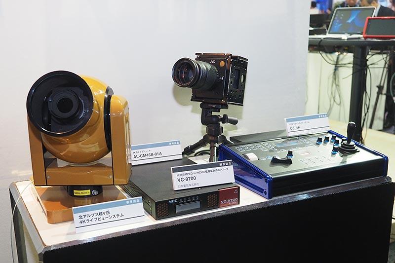槍ヶ岳からの4K生中継に4Kカメラが採用