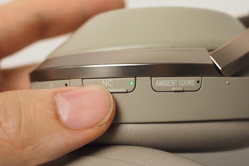 NCボタンを長押しすると「パーソナルNCオプティマイザー」が動作