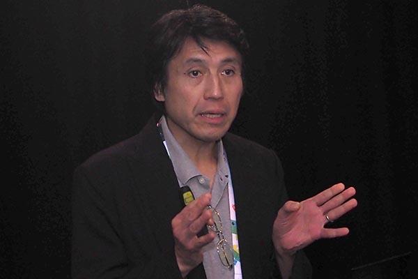 ソニービジュアルプロダクツ 技術戦略室 主幹技師の小倉敏之氏