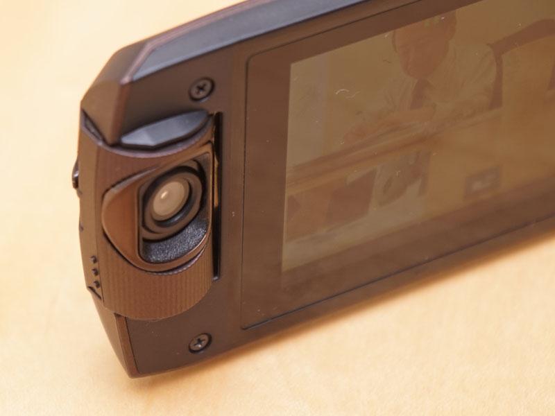WX995Mはワイプ撮り用カメラを搭載