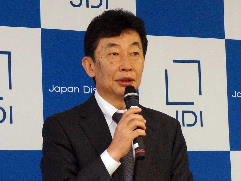 ジャパンディスプレイ 有賀修二社長