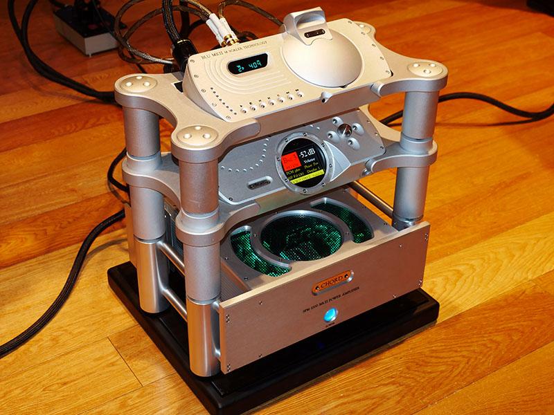 Blu MkII、DAVEと、SPM1200 MkII、TADのスピーカー「TAD-CE1」で試聴した