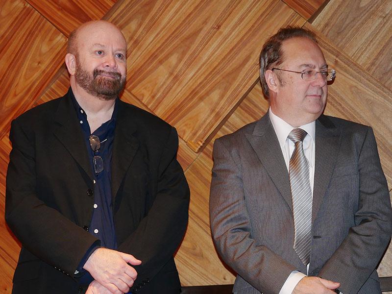 CHORDのCEO ジョン・フランクス氏(左)とロバート・ワッツ氏(右)