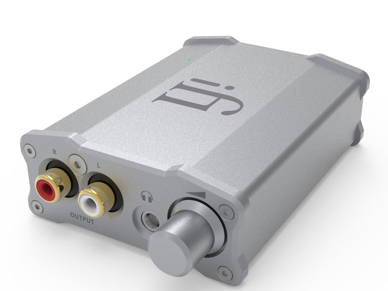 DAC内蔵のポータブルヘッドフォンアンプ「nano iDSD LE」