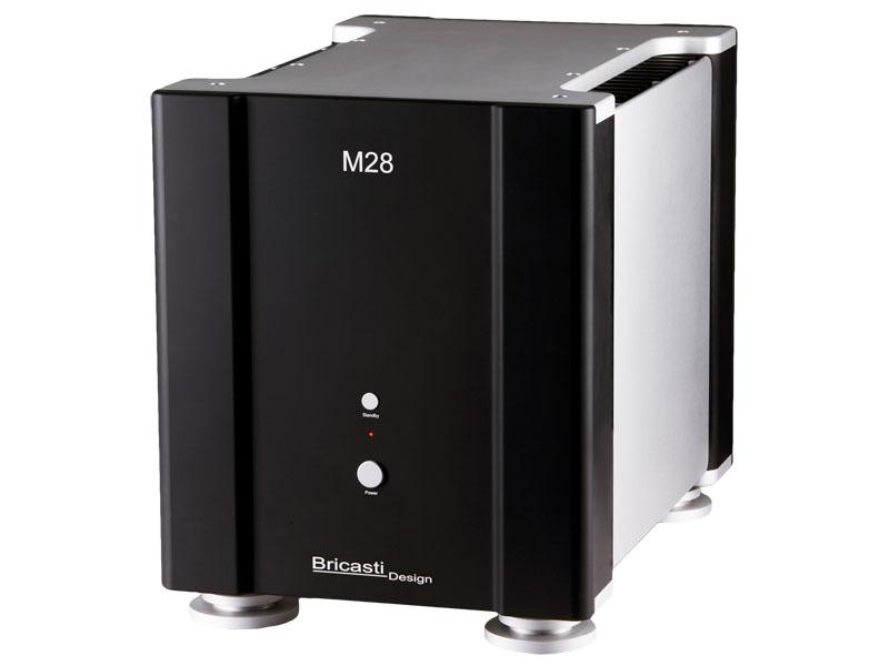 Bricasti Designのフルバランス・モノラル・パワーアンプ「M28 Special Edition」