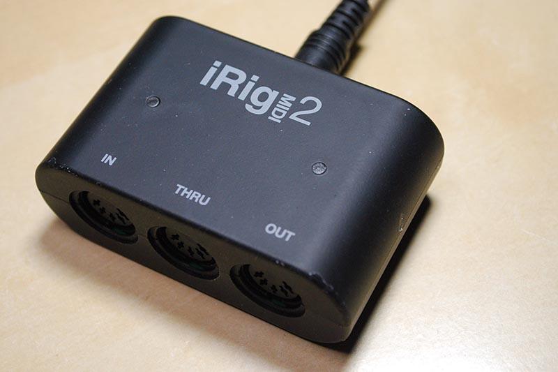 IK MultimediaのiRig MIDI