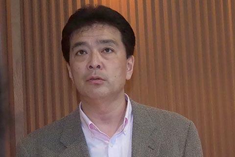 オンキヨー&パイオニアマーケティングジャパンの八重口能孝氏