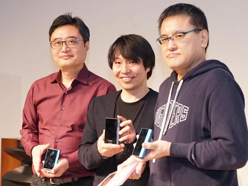 左からJames Lee CEO、曽我部恵一氏、小野島大氏