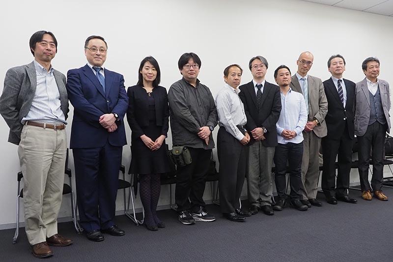 会合に参加したSeeQVault採用の各社とNSM Initiatives LLCの代表者